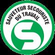 Sst sauveteur secouriste du travail logo